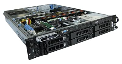 "Dell PowerEdge 2950 Gen II 2 Server 2x 3.0GHz Intel 5160 Dual Core Processors, 16GB RAM / Memory (8x 2GB PC2-5300,FB) 2x 146GB 15k SAS 3.5"" HDD Hard Drives 2 Power Supplies Perc 5i RAID Controller DRAC5 DVD-Rom"