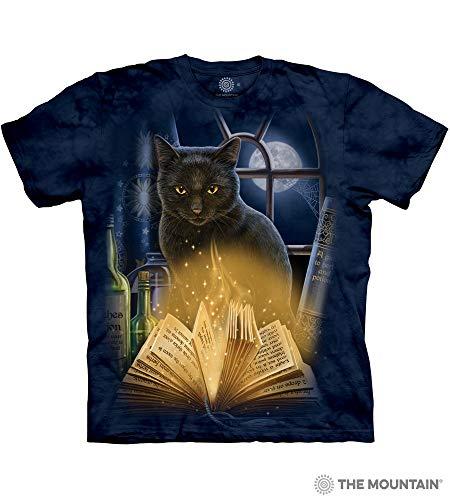 The Mountain Patriotic Kitten Adult T-Shirt, Blue, 3XL