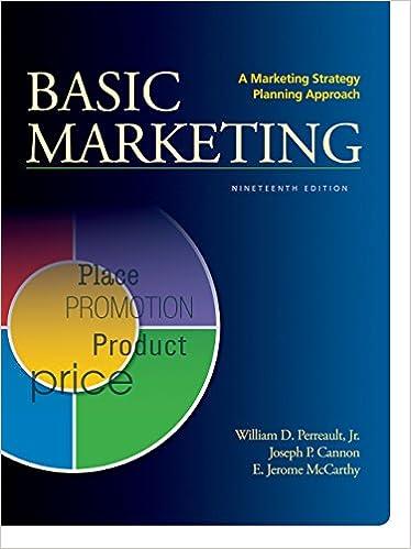 Amazon com: A Marketing Strategy Planning Approach eBook: William