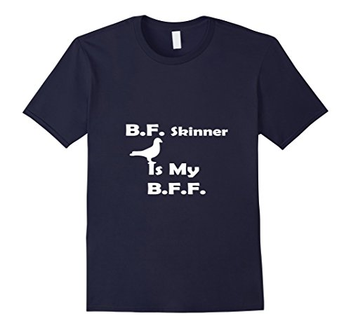 Mens BF Skinner is my BFF pigeon t-shirt 2XL Navy (Skinner Shirt)