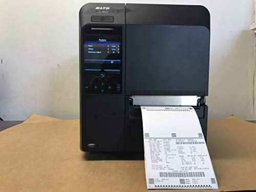 (Sato WWCL20061 Series CL4NX High Performance Thermal Printer, 305 dpi Resolution, 8 IPS Print Speed, Serial/Parallel/Ethernet/USB/Bluetooth Interface, 4
