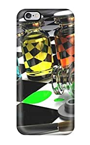 For Case Cover For Apple Iphone 4/4S Protector Case Colored Glass On Chess Board Phone Cover