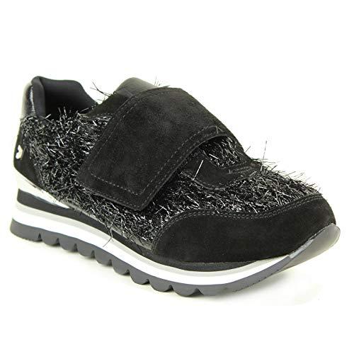 Sneakers 46534 Noires noir Guirlande Gioseppo W0nRwB4qR