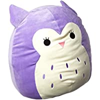 SQUISHMALLOW Holly The Owl Pillow Stuffed Animal, Purple,...