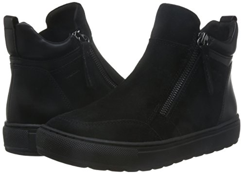 Donna Geox D742qa 00022 Sneakers Nero nqp4qBx