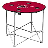 Logo Chair NFL Team Logo Portable Round Tailgating Table