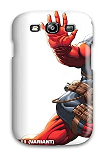 5858643K17836066 New Style Deadpool Premium Tpu Cover Case For Galaxy S3