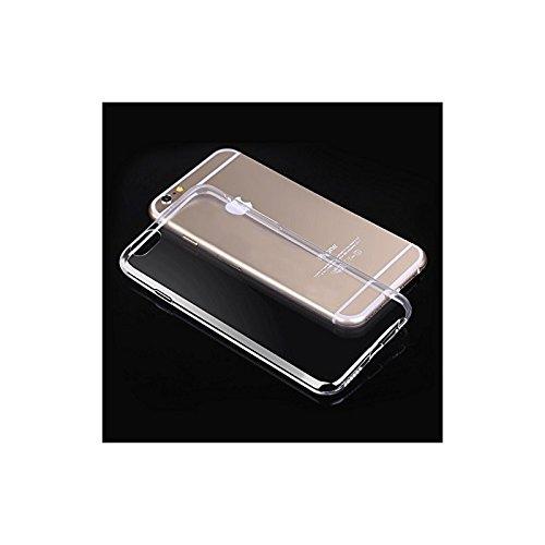 Coque2mobile® TPU Silicone Housse Coque Etui Gel Case Cover pour Apple iPhone 6 Plus, écran 5.5 pouces Transparent