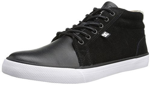 DC Shoes Council Mid Le - Zapatillas Hombre Schwarz (BLACK - 1)