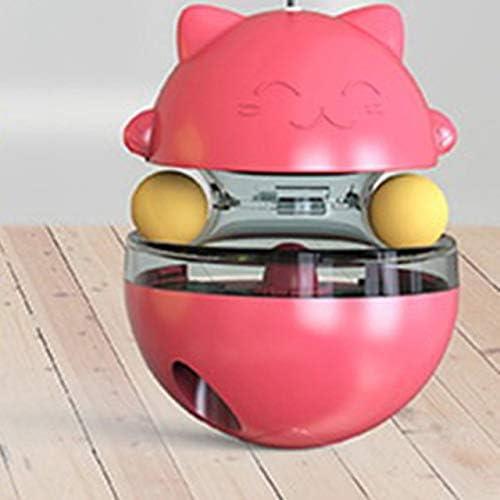 conocido Alimentación de la pelota para perros y gatos Interactivo gato Juguete Vaso de comida para mascotas para la alimentación lenta Entrenamiento de búsqueda de alimentos de juguete España SCARLET: Amazon.es: Productos