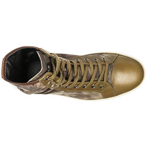 Largas En Zapatos Rebel R182 Piel Mujer Hogan R182 Rebel De Deporte Zapatillas 355977