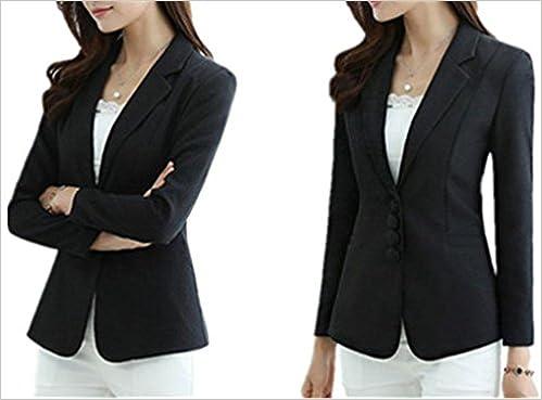 Amazon.com: jiangtaolang chaquetas para mujer S-5 X L Busto ...