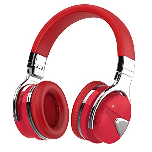 Active Noise Cancelling Headphone Bluetooth Headphones with Microphone, Stereo Wireless Headset with Microphone & Comfortable Earpads & 12 Hours Playtime & Wireless Headphones