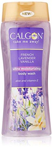 - Calgon Ultra-Moisturizing Body Wash (French Lavender Vanilla, 16-Ounce)