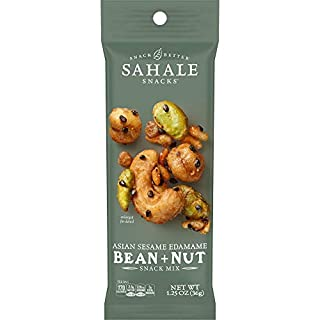 Sahale Snacks Asian Sesame Edamame Bean & Nut Snack Mix, 1.25 Ounces (Pack of 18)
