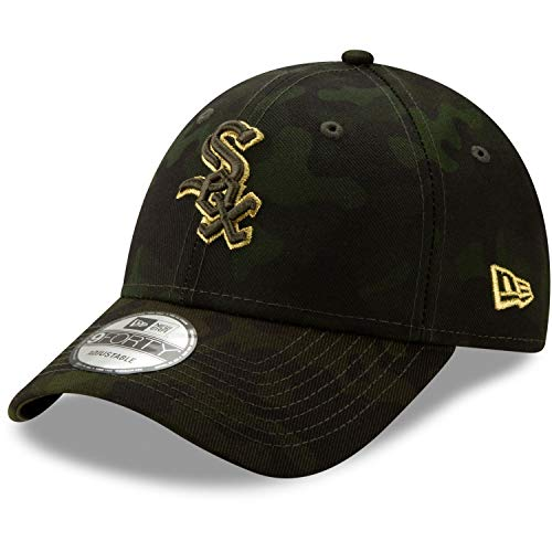 White Sox Camo - New Era Chicago White Sox 2019 MLB Armed Forces Day 9FORTY Adjustable Hat - Camo