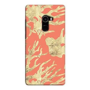 Cover It Up - Red Nature Print Mi Mix 2 Hard case