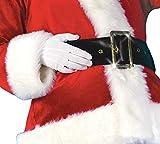 Mens Santa Claus Suit Adult Plush Costume (Large)