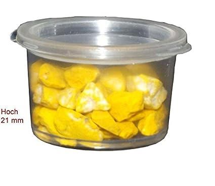 50 salsas para ensaladas vasos 15 ml 1 de vidrio bolsa transparente+