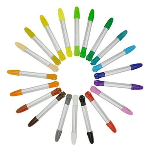 水で落とせる クレヨン 20色入り 赤ちゃん 安全 繰り出し式 カラーペン 手が汚れない 色鉛筆 水溶性 子供用 画材 絵の具握りやすい 小学生 知育玩具 落書き お絵描き 塗り絵 美術教室 幼稚園 工作用品