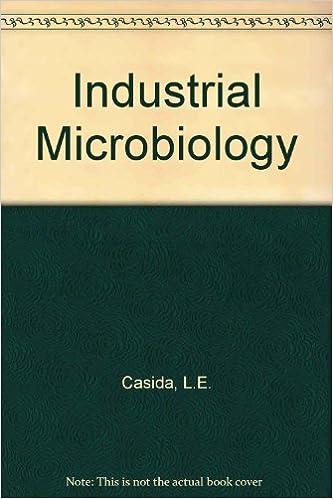 Industrial Le industrial microbiology l e casida 9780471140603 amazon com books