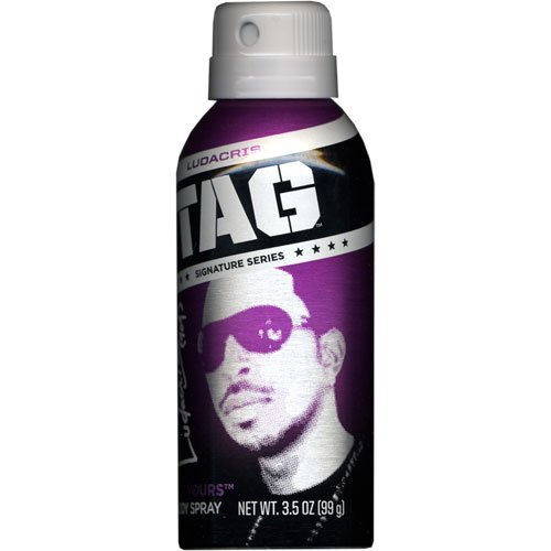 (Tag Body Spray for Men Get Yours, Ludacris 3.5 oz.)