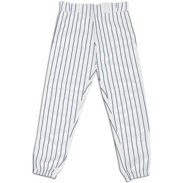 ITE/NAVY ADULT PINSTRIPE PANTS NEW POLYESTER PROSTYLE ANKLE LENGTH-XLARGE ()
