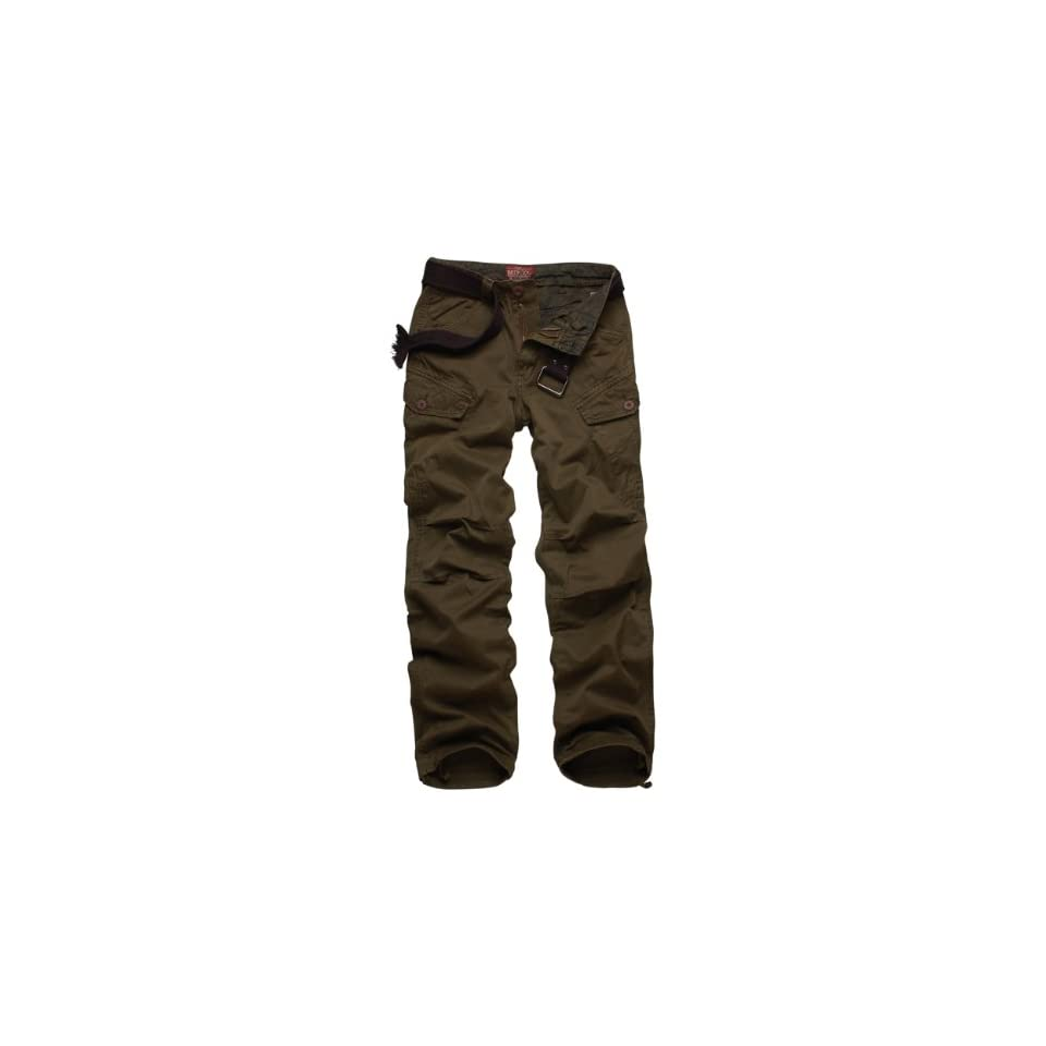 Match Mens Cargo Pants Slim Fit Casual Pants #6515 at  Men's Clothing store Matchmen