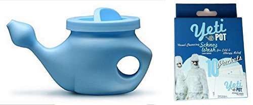 Neti-Pot Netipot with 10 Nasal Cleansing…