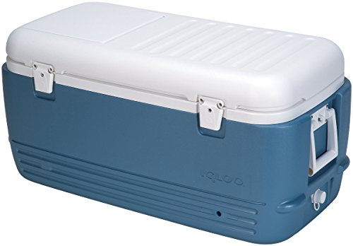 (Igloo MaxCold Cooler (100-Quart, Icy Blue))