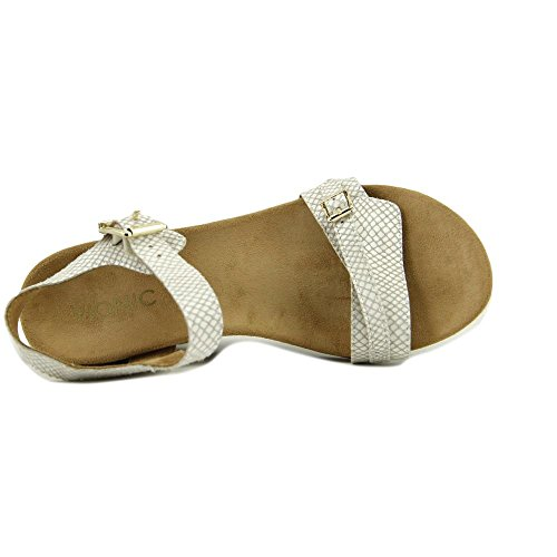 con Orthaheel Technology Noble Laurie Sandal da donna (7.5 B (M) US, White Snake)
