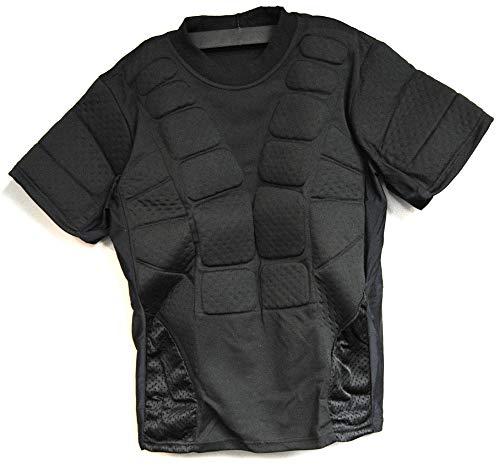 3Skull Padded Protective Chest Harness Black - Medium