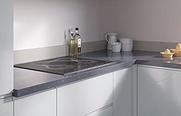 Egger Quadratisch Rand Cosmic Grau Effekt Küche Badezimmer ...