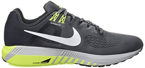 Scarpe Structure 21 Uomo Zoom Air Cool Running Multicolore Volt Anthracite 007 Grey Nike White IqZfw