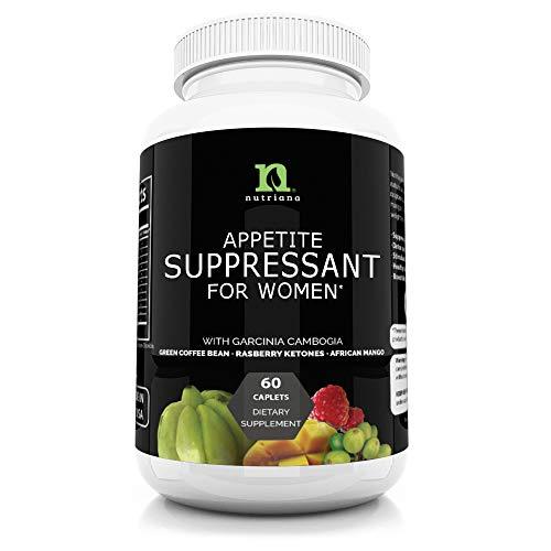 Best Appetite Suppressant For Women | All Natural Weight Loss Pills That Work | Clinically Studied to Feel Full Longer | Fat Burner For Women | Metabolism Booster | Diet Pills |Carb Blocker Supplement