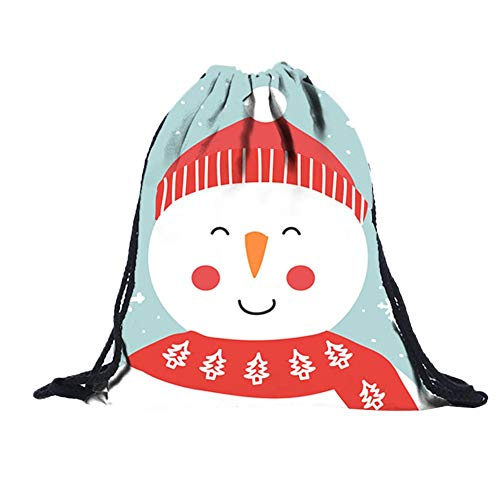 (✈ HYIRI Unisex Special Printing Draw Pocket Backpack Drawstring Bag Shoulder Bag)