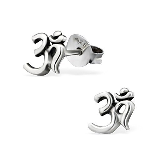 Polished And Nickel Free Liara Ball Plain Ear Studs Sterling Silver 925