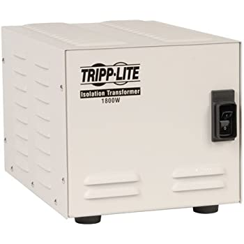 Amazon com: Tripp Lite IS250 Isolation Transformer 250W Surge 120V 2