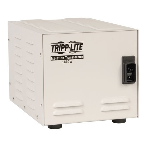 Tripp Lite IS1800HG Isolation Transformer 1800W Medical Surge 120V 6 Outlet TAA GSA by Tripp Lite