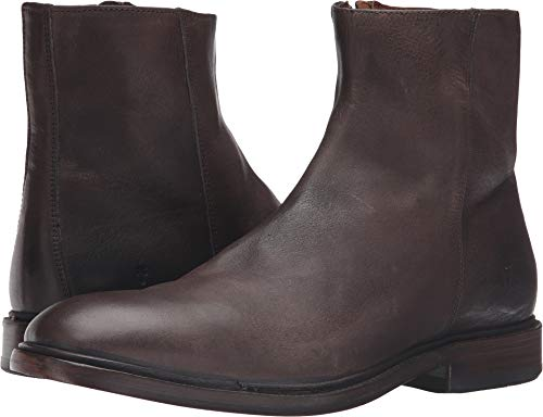 FRYE Men's Chris Inside Zip Boot, Charcoal, 9.5 D US ()