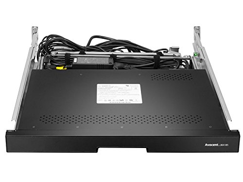 Avocent Rack Console 19'' LCD Widescreen, 1U Rackmount, Dual USB 2.0 (LRA185KMM-001) by Avocent (Image #1)