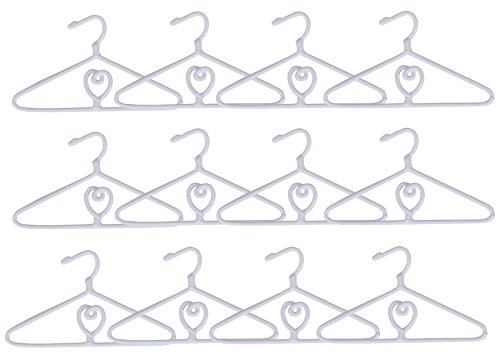 Springfield Collection Hangers for 18-Inch Doll Clothes and Accessories, Fits American Girl Dolls