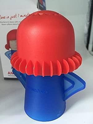 Microondas Horno Limpiador a vapor limpia fácilmente la Crud en minutos. angry-mama vapor limpia y desinfecta con vinagre y agua para hogar o oficina ...
