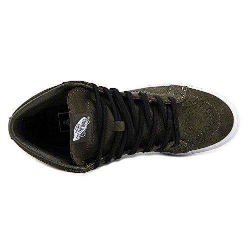 Vans Daim Baskets noir Khaki Messieurs w7ZP4