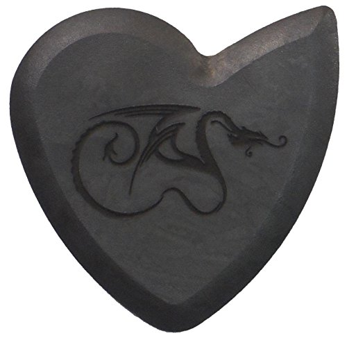- Original Dragon's Heart Guitar Pick - 1000 Hours of Durability, 2.5mm Thickness, Single Pack