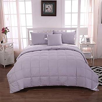 lightweight 100 white goose down comforter blanket for summer spring size. Black Bedroom Furniture Sets. Home Design Ideas