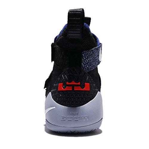 Nike Mens Lebron Soldier XI EP, BLACK/WHITE-DEEP ROYAL BLUE Black/White-deep Royal Blue