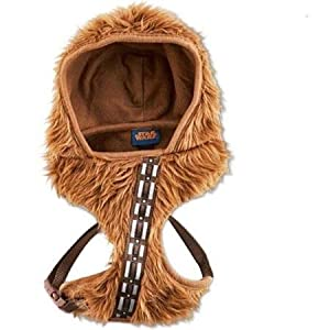 Petco STAR WARS Chewbacca Hooded Dog Harness~LARGE~