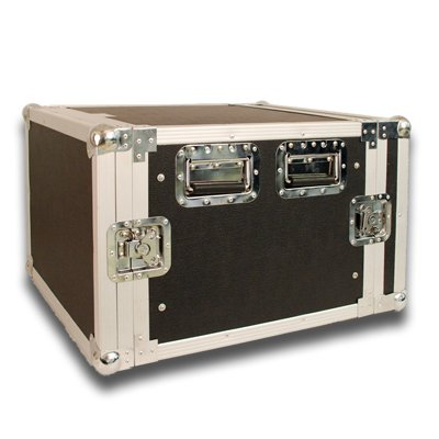 Seismic Audio - 8 SPACE RACK CASE for Amp Effect Mixer PA/DJ PRO Audio
