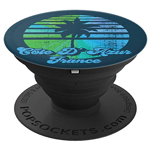 Cote D'Azur - Nice, St. Tropez, Cannes, France Souvenir PopSockets Grip and Stand for Phones and Tablets